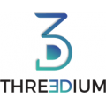 Threedium logo