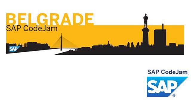 Prvi SAP CodeJam u Beogradu
