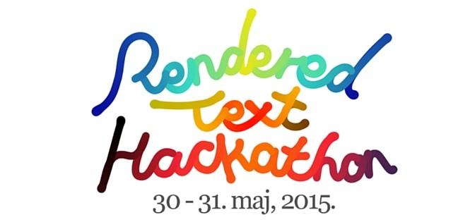 Prvi Rendered Text Hackathon