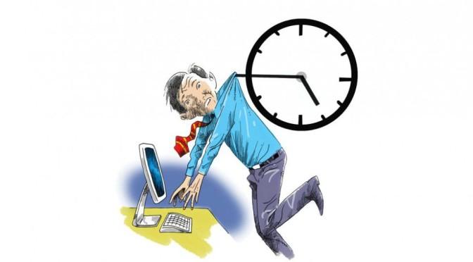 Efikasnost rada (ne)proporcionalna satima provedenim na radnom mestu