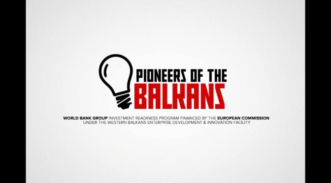 Pioneers of the Balkans startup takmičenje