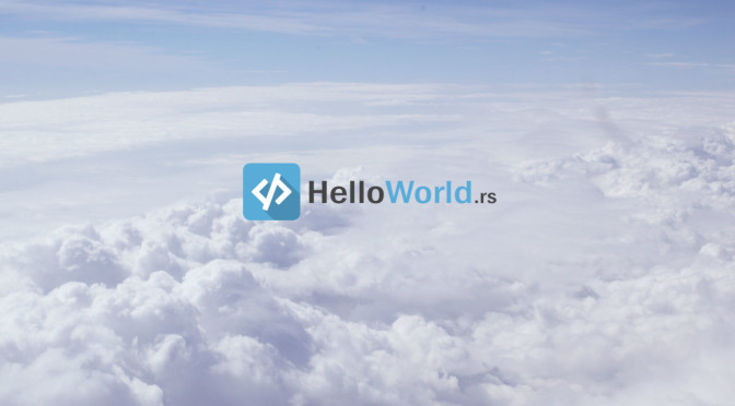 Prosečan dan u HelloWorld.rs timu