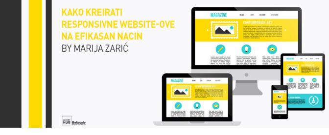 Kako kreirati responsivne website-ove na efikasan način?