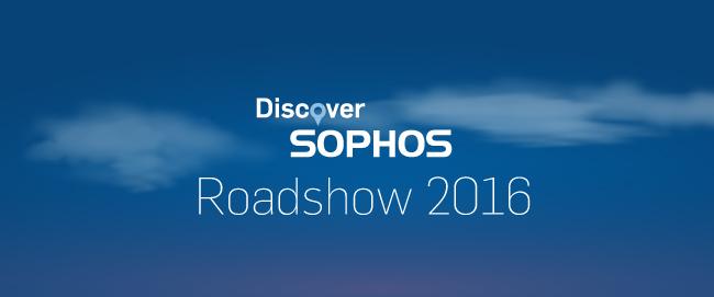Sophos Partner Roadshow 2016