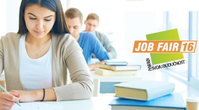 JobFair16 ─ Kreiraj svoju budućnost!
