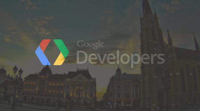 Drugo okupljanje Google Developers grupe u Novom Sadu