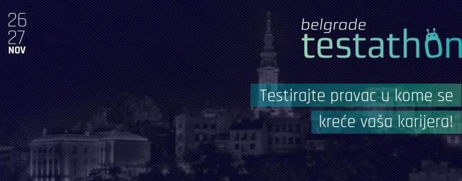 Prijavi se za Belgrade Testathon!