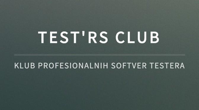 Test'RS zajednica u Startit Centru Novi Sad