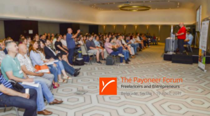 Payoneer Forum 2017.