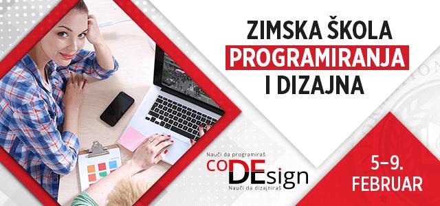 Zimska škola programiranja i dizajna