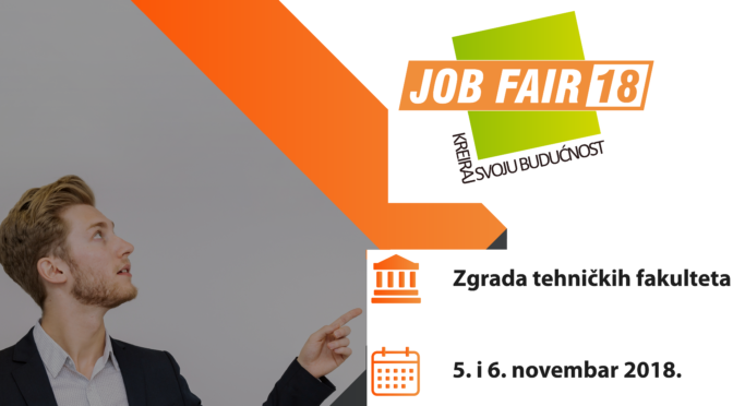 JobFair18 — Kreiraj svoju budućnost