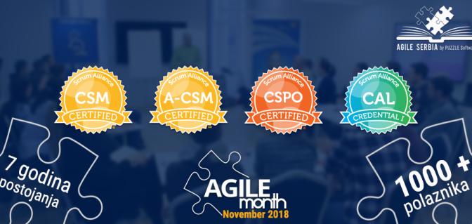 7. Agilni mesec i 7 godina edukacije za agilnije i zdravije poslovanje