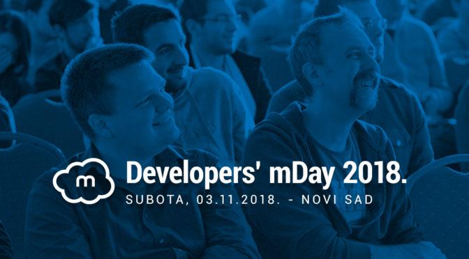 Developers' mDay 2018.