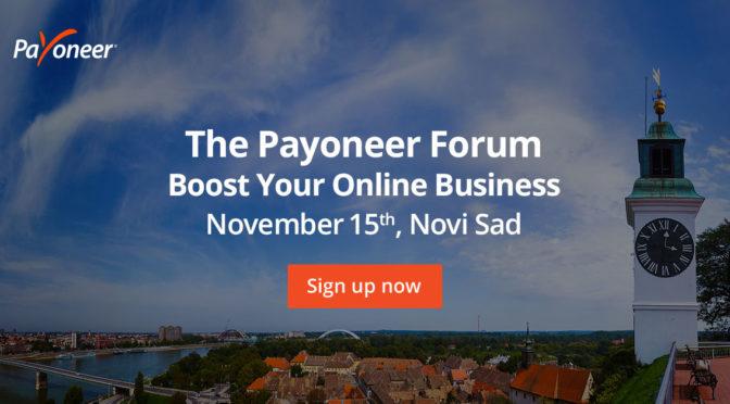 Payoneer Forum Novi Sad