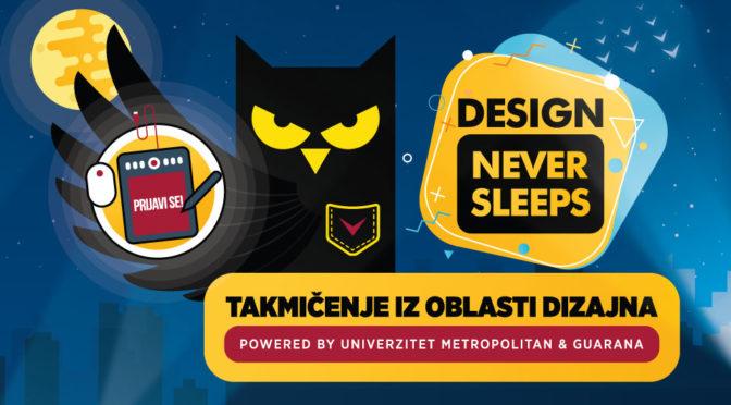 Design never sleeps – prvi dizajnerski hakaton u Srbiji