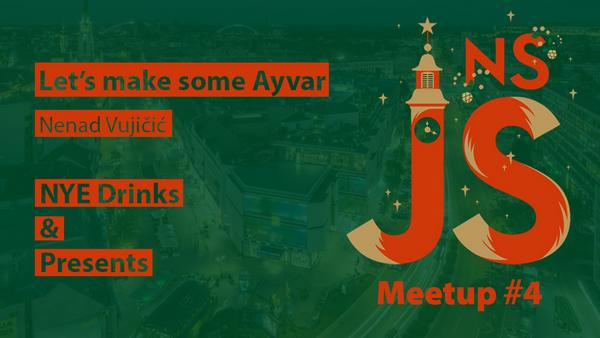 #4 JavaScript okupljanje u Novom Sadu