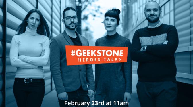 Geekstone Heroes Talks - besplatna mini konferencija za IT entuzijaste