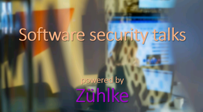 Software security talks