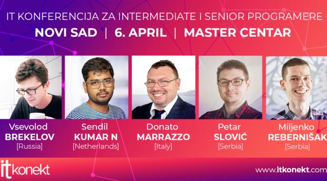 Svetski IT eksperti u Novom Sadu - ITkonekt 2019