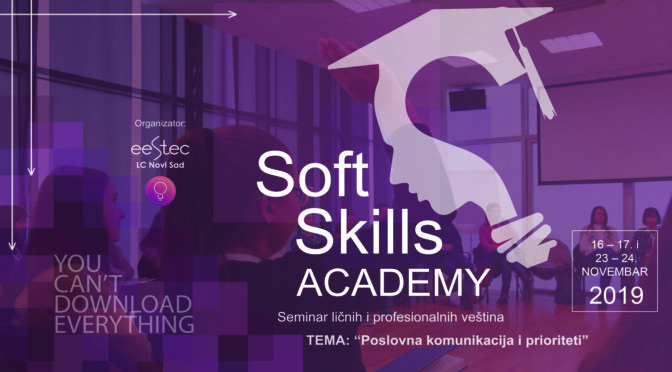 """Soft Skills Academy – You can't download everything"""