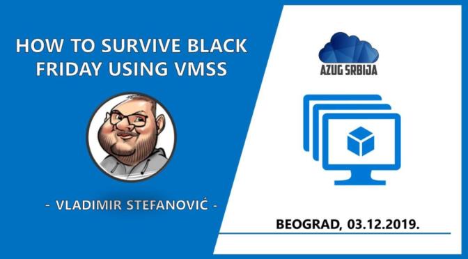 Kako da preživite Black Friday koristeći VMSS