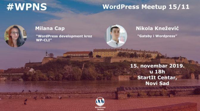 25. WordPress meetup u Novom Sadu