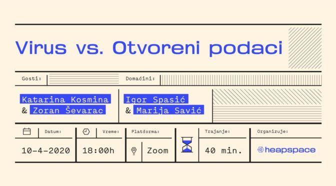 """Online meetup """"Virus VS Otvoreni podaci"""""""