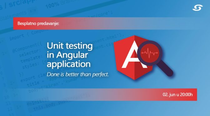 Unit testing in Angular application