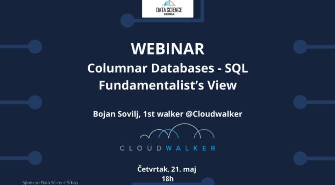 Data Science Srbija Webinar: Columnar Databases