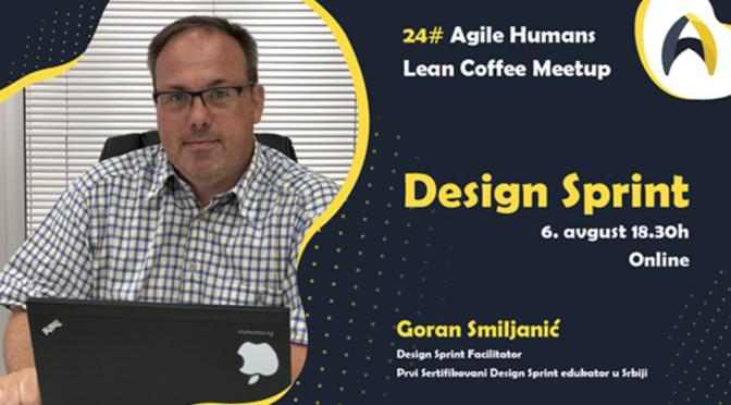 Online Agile Humans Lean Coffee Meetup: Design Sprint
