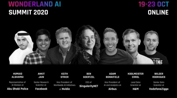 Za dva dana počinje Svetski AI Panel: kompanije Google, Airbus, H&M, SingularityNET i mnoge druge na Wonderland AI Summit-u 2020