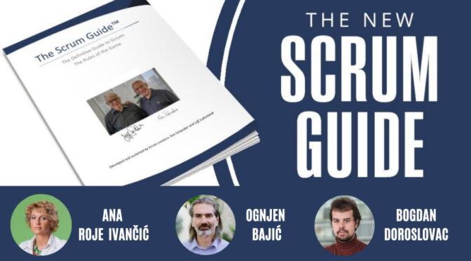 Scrum Guide 2020 - Koje to novosti donosi?