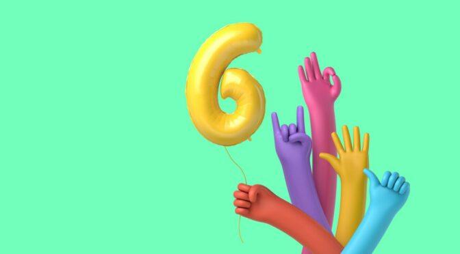 Zdravo svete, slavimo 6. rođendan!