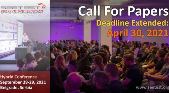 SEETEST 2021 - jedna od najvećih testerskih konferencija u septembru u Beogradu