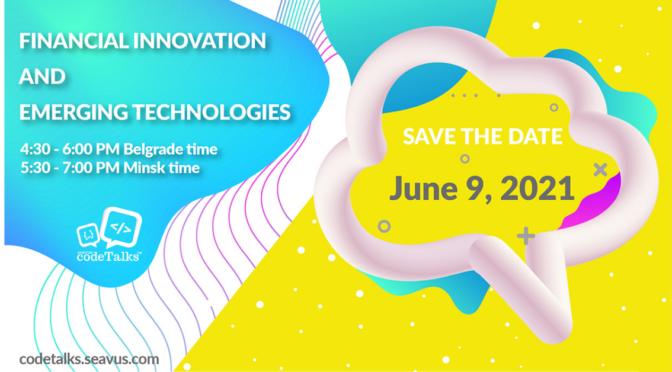Seavus CodeTalks na temu inovacija u finansijskom sektoru i novih tehnologija