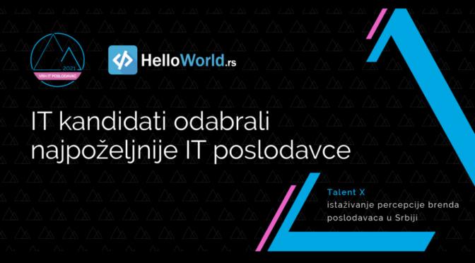 IT zajednica odlučila: VRH IT poslodavci u Srbiji su Microsoft, Nordeus i Ubisoft!