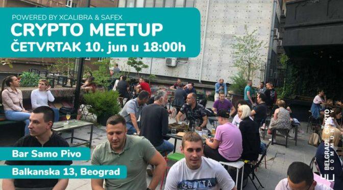 Crypto Meetup Beograd – 10. jun