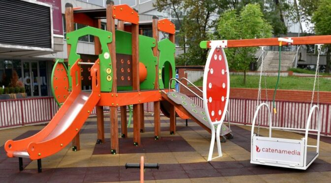 Catena Media Installs Equipment for Children with Disabilities in Belgrade