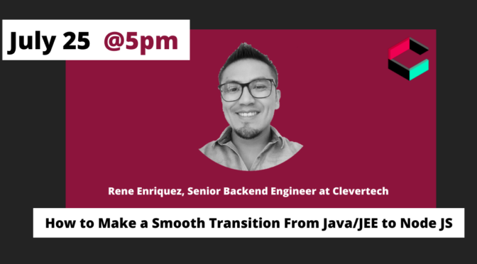 How to Make a Smooth Transition From Java/JEE to Node JS