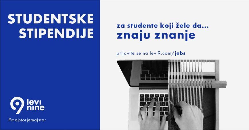 Otvoren novi konkurs Levi9 stipendija za studente tehničkih fakulteta